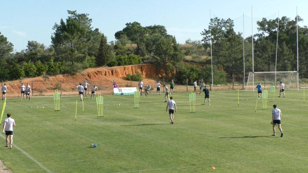 Hurling - Hurley Training In The Algarve