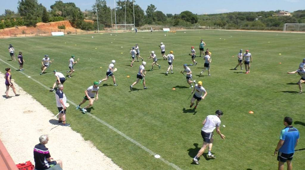 Hurley Training In The Algarve Portugal