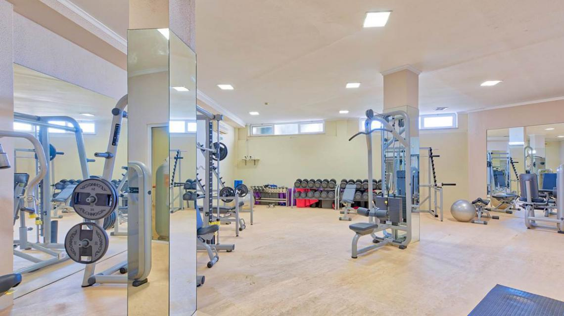 Gym in the Algarve
