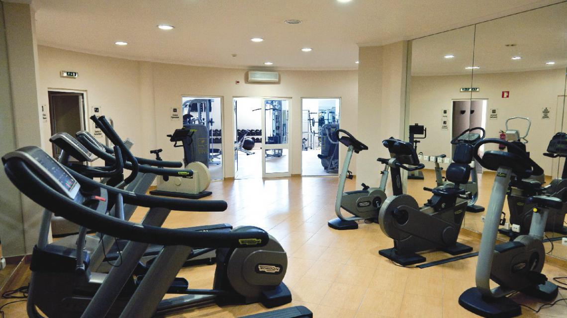 Colina Verde Gym in the Algarve